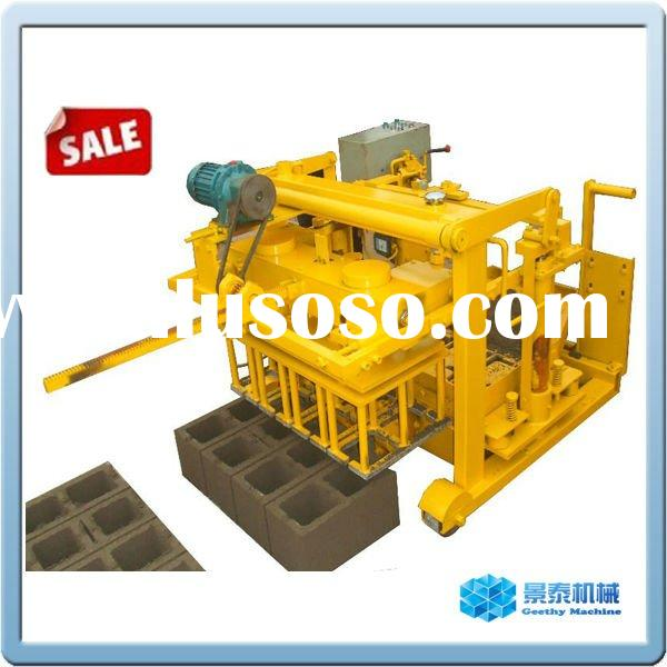 QMY4-30 small concrete block machinery