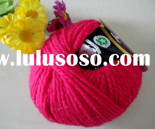 hand knitting yarn wool yarn