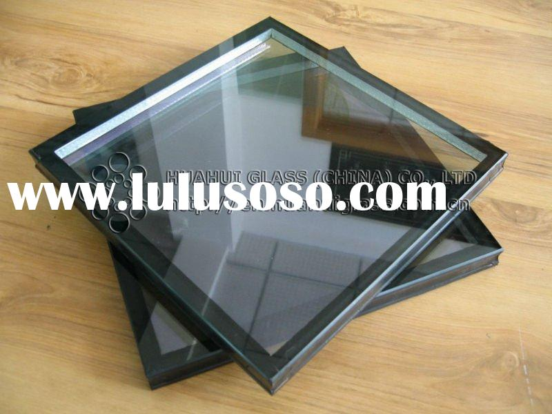 tempered insulated glass with 9mm air spacer