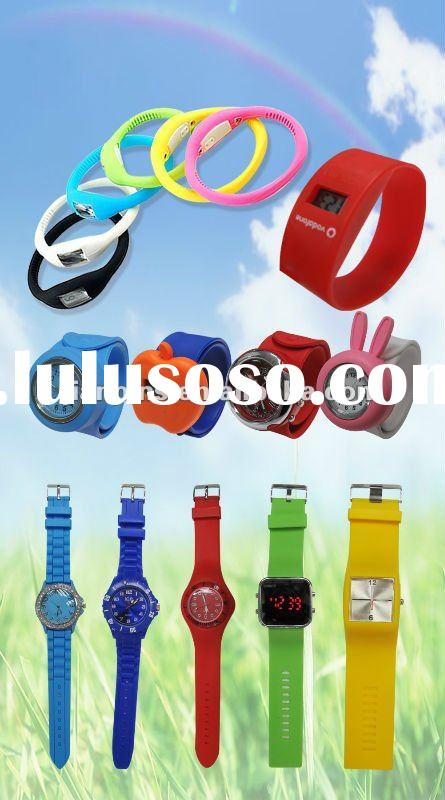 2012 Popular & Fashionable Silicone Watches from JIAN