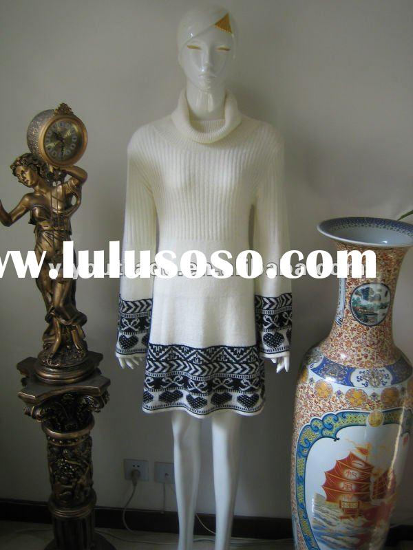 2012 latest fashionable pullover ladies' short sweater