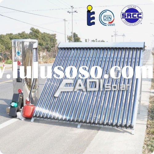 EN12975 and SRCC Certificated Stainless Steel Solar Water Heaters (Double Coiler 250Liter)