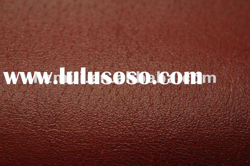 Microfiber backing PU leather for shoe