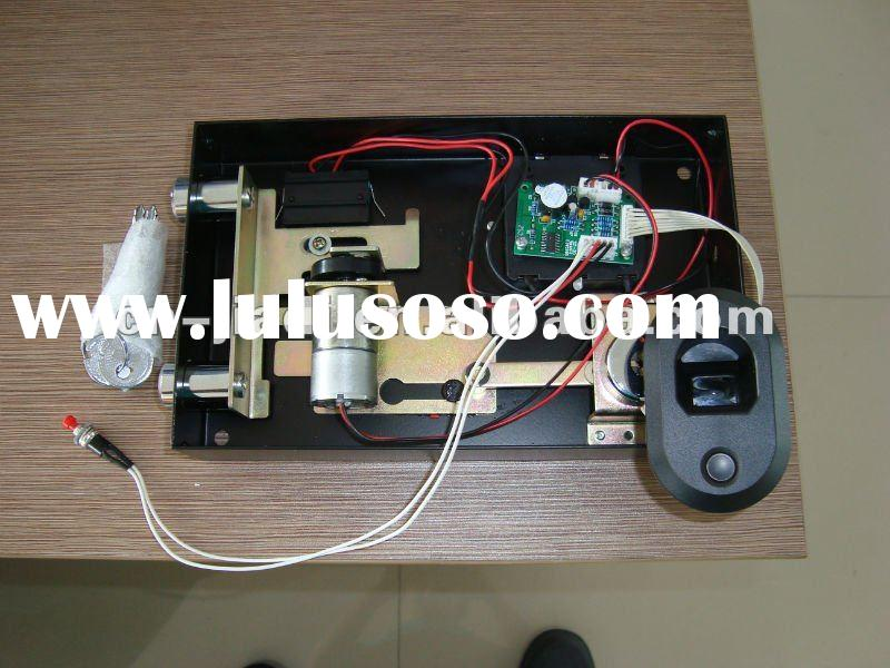 Optics biometric fingerprint safe lock with CE and EMC certificate with Motor drived