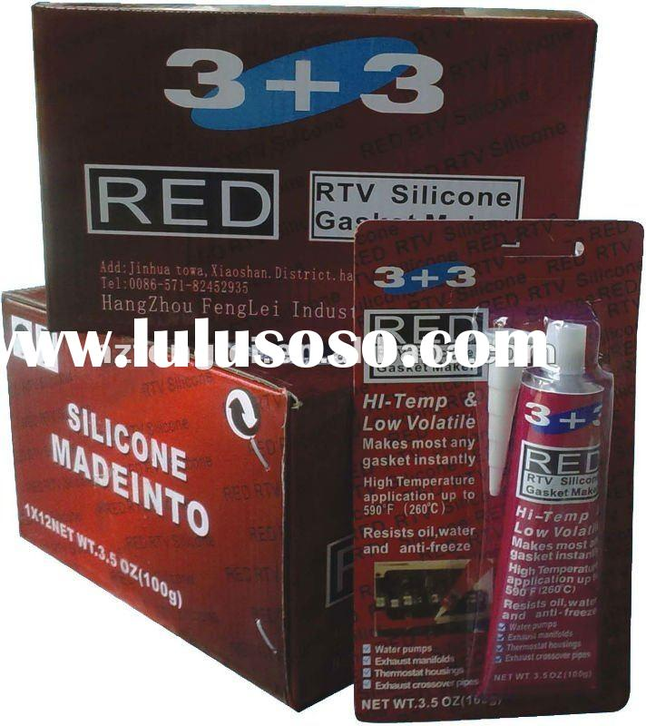 Red Acetic RTV Silicone Gasket Maker