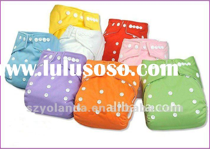 bright color waterproof and breathable baby cloth diaper