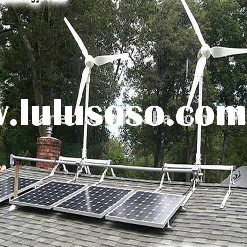 high power wind solar hybrid system