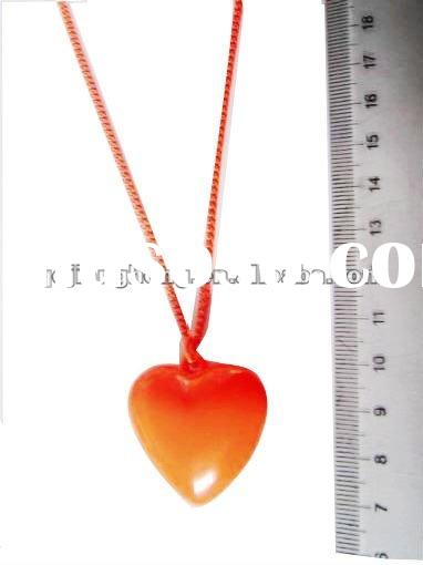 2012 New year fashion heart necklace