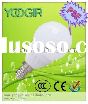 3W PSE B50 ceramic LED bulb SMD5050