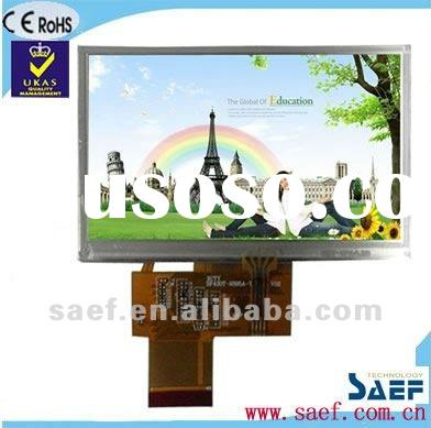 """4.30"""" 480*(RGB)*272 WQVGA Landscape Color display TFT LCD display with Touch Panel"""