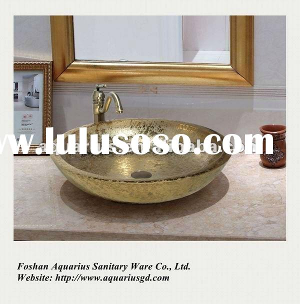 Big Size Art Ceramic Sink, Ceramic Wash Basin GD1-01