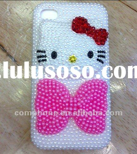 Nice Looking ! Fashion luxury durable pearl case for iPhone 4 iPhone 4s Wholesale