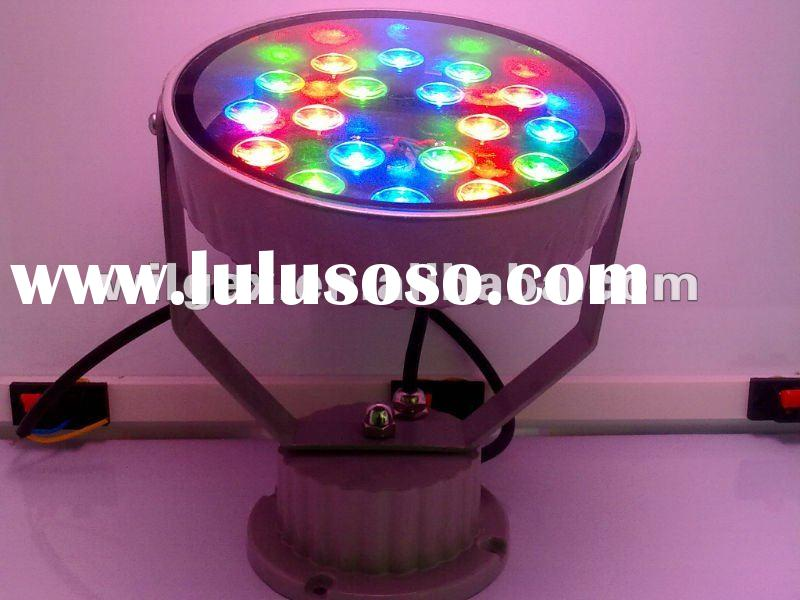 round 24V High power LED wall washer