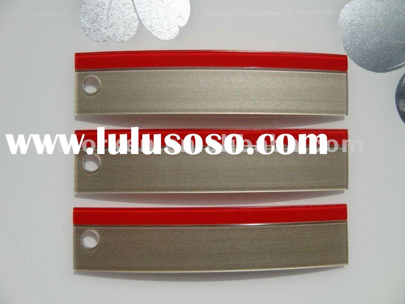 3D/high gloss/transparent/acrylic/pmma double color edge banding
