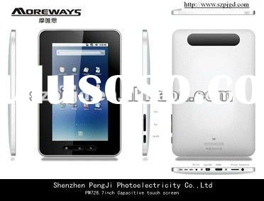 7 inch android tablet pc sale capacitive touch screen 3G WIFI