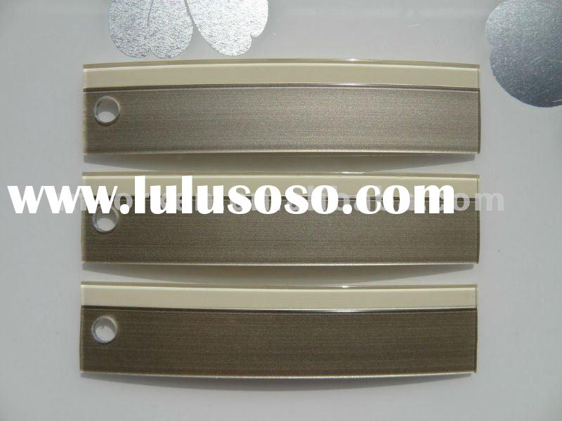 high gloss/transparent/acrylic/pmma/3D double color edge banding