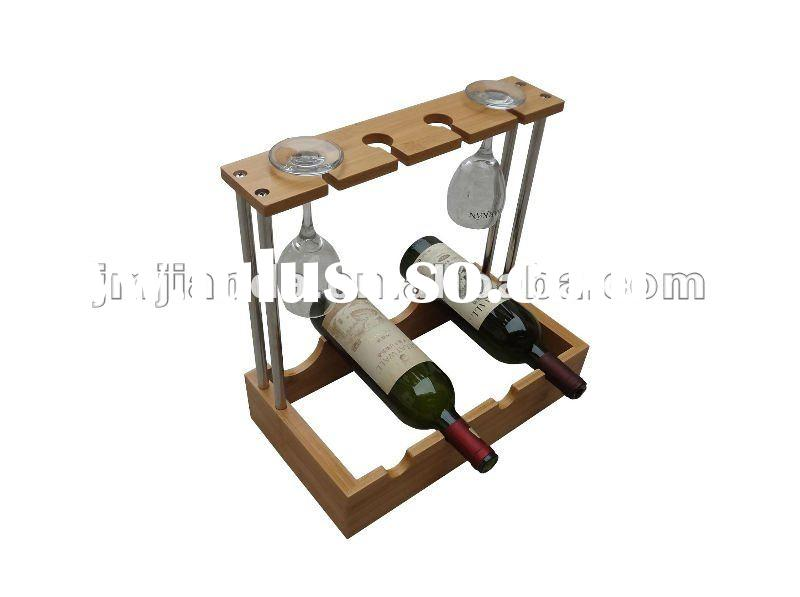 Bamboo knocked-down wine Rack