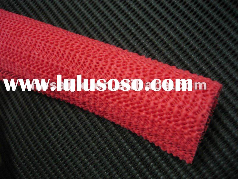 Pvc Form Rug Underlay Pvc Grid Mat Any Size Available For