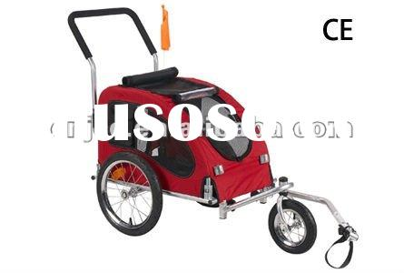 Red Color Bicycle Pet Trailer(PT002)