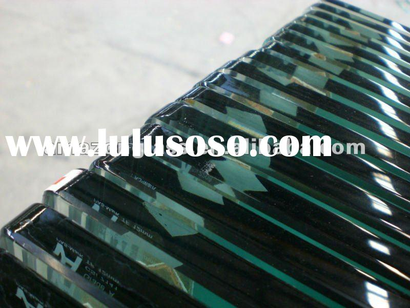 12mm clear bevel polished glass