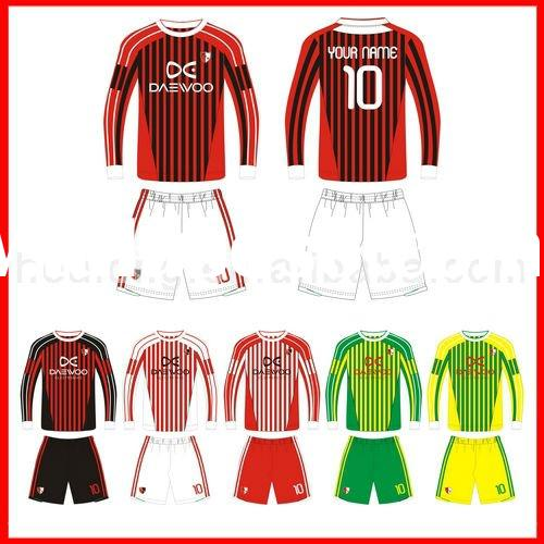 2012 Customize soccer set, soccer uniforms