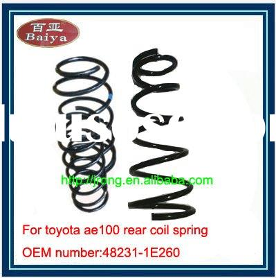 AE100 rear coil spring supplier with OEM 48231-1E260