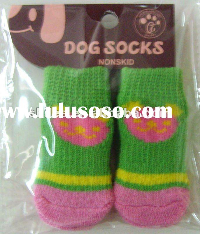 Fashion lovely pet socks with paw pattern