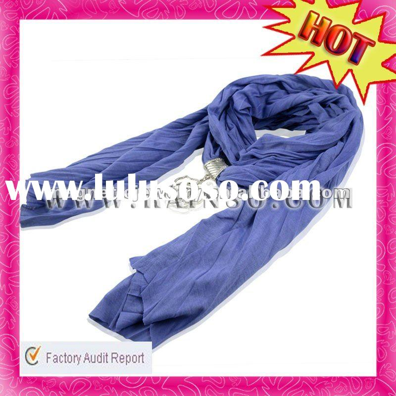 Jewel Tender Washable Solid Color Romantic Fashion Cotton Scarf