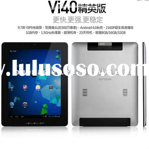 "Newest Onda VI40 ISP 9.7"" Tablet pc A10 1.5GHz"