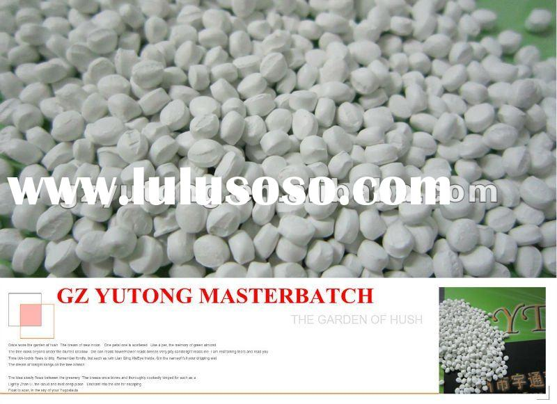 white masterbatch for injection molding and film blowing