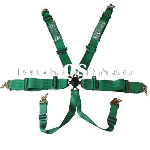 Safety Belt with 6 points for car,racing car, turing car, truck