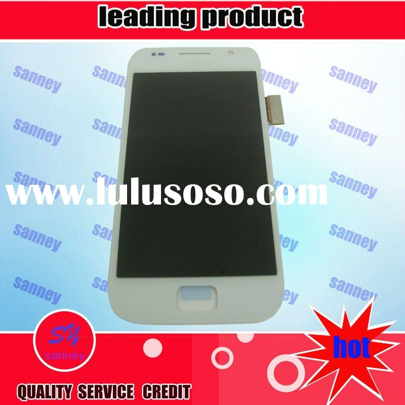 mobile phone lcd display for i9000 white with digitizer with factory price