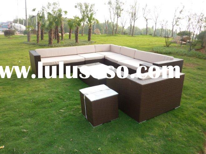 quality recommend garden rattan furniture sofa set 2012