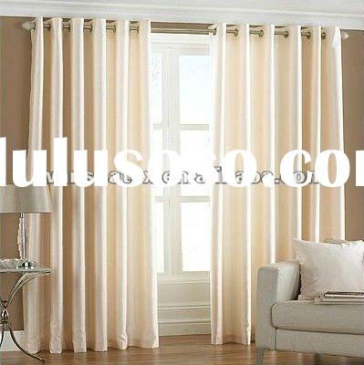 100% Polyester Faux Silk Slub Curtain,Shantung Fabric