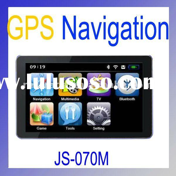 7-Inch Car GPS Navigator With 2GB Memory Card JS070M