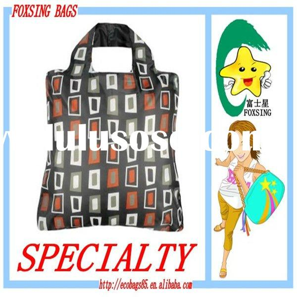 New 210D Polyester hand-held drawstring eco Shopping bag