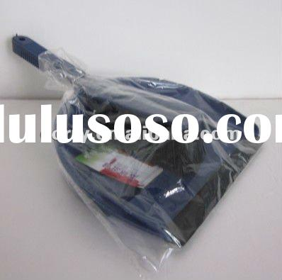 Plastic bule & small clean dustpans with the brush
