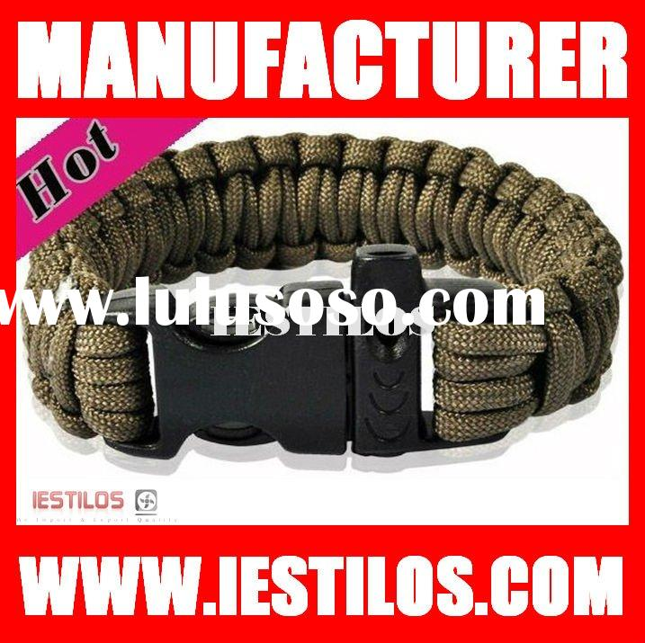 2012 Alibaba Top Supplier wholesale stainless steel buckle paracord bracelet paracord buckle with wh