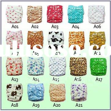 baby cloth diaper minky fabric all in one size