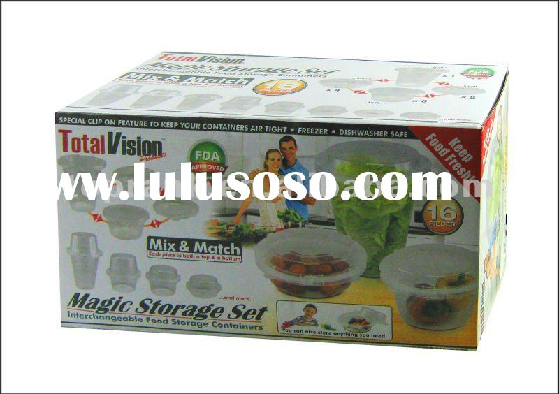 16PCS STORAGE BOX SET