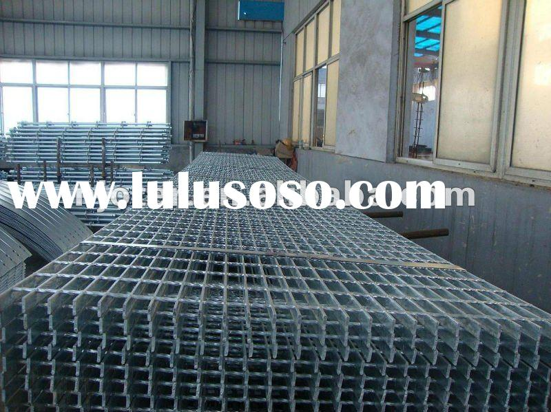 Best quality and service, most competitive price hot dip galvanized flooring steel grating