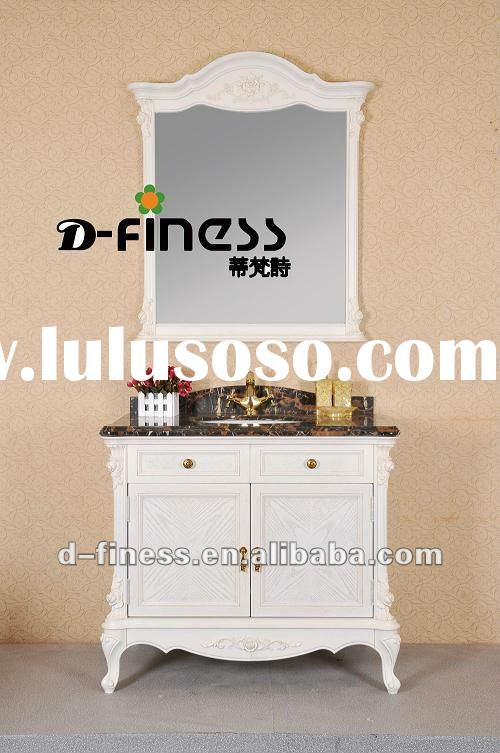 antique style solid wood vanity