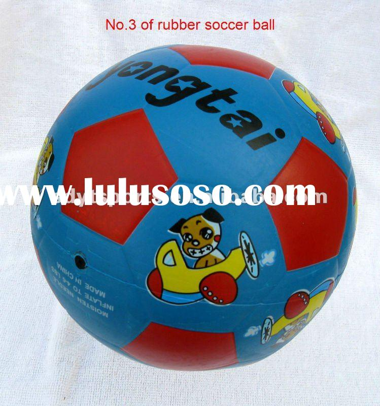 size 3 soccer ball /football , mini rubber soccer ball
