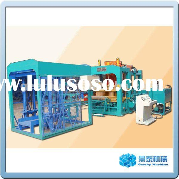 Fully automatic block making machinery production line QT9-15