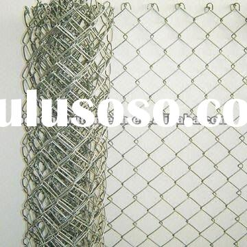 Galvanized Chain Link Fence(Direct Factory)