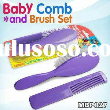 Baby hair comb and brush care gift set