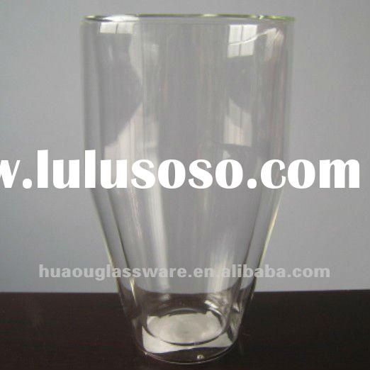 Fashional and Double Wall Glass Tea Cup
