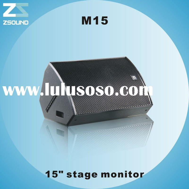 """M15 15"""" two-way professional stage monitor"""