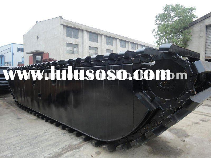 PU200 Pontoon Undercarriage for swamp excavators