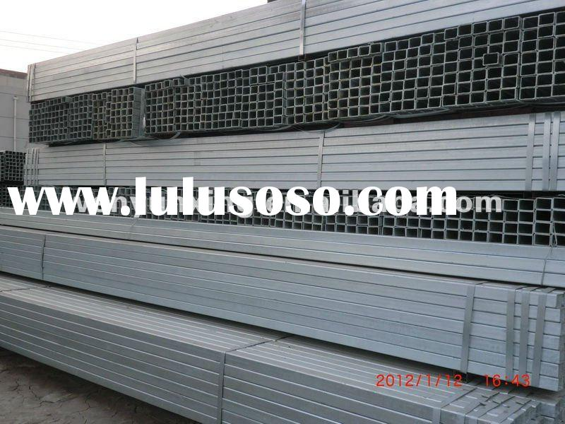 galvanized square steel hollow section